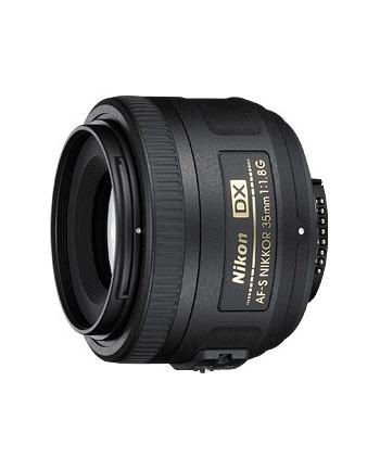 Obiektyw Nikon 35 mm F/1,8G AF-S DX - fi 52 mm