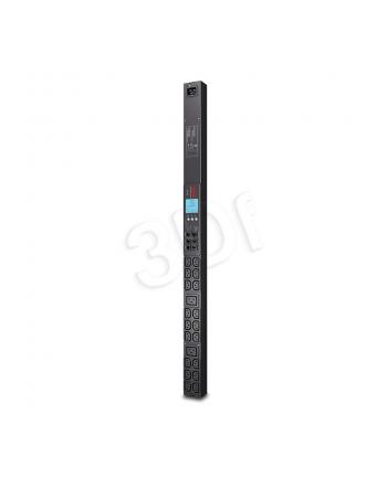 APC Rack PDU 2G, Metered, ZeroU, 16A, 230V, (18) C13 & (2) C19, IEC309 Cord