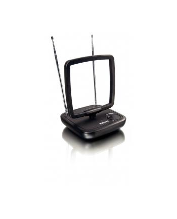 Antena DVB-T pokojowa PHILIPS SDV5120/12 aktywna  ( Antena ze wzmocnieniem 36 dB do współpracy z dekoderem cyfrowym )