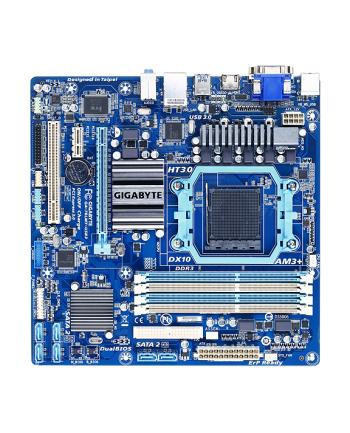Płyta Gigabyte GA-78LMT-USB3 /760G+710/VGA/USB3/AM3+/mATX