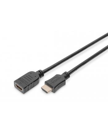 Digitus Kabel przedłużający HDMI dużej szybkości, typ A/M - A/F 5,0m