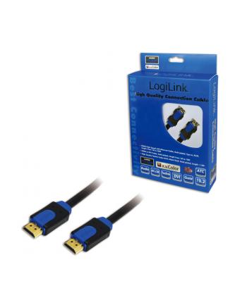 LOGILINK Kabel HDMI High Speed z Ethernet v.1,4 z 3D , dł.15m
