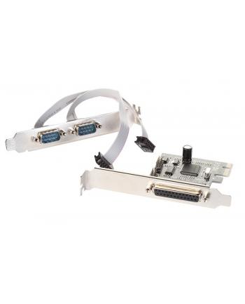 i-Tec PCIe I/O Controller Card 2xSerial RS232/COM+1xParallel/LPT na PCI Express