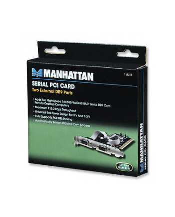 Manhattan Kontroler PCI 2xRS-232