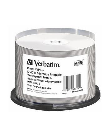 DVD-R DL Verbatim [ spindle 50 | 4.7GB | 16x | do nadruku wide glossy ]