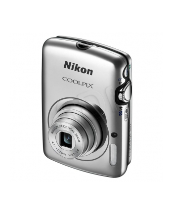 Nikon Coolpix S01 Silver, 10.1Mpixels, NIKORR 3x wide-angle zoom lens, Internal memory approx. 7.3 GB, Anti-blur, HD movie rec., 2.5'' touch screen LCD, ISO 1600, EXPEED C2, Li-Ion batt.,  SD/SDHC/SDXC