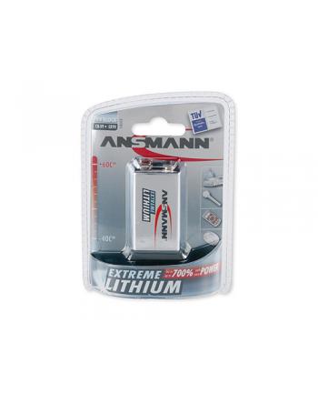 Bateria litowa ANSMANN E-block 9V