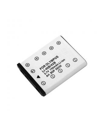 Doerr Akumulator DDP-OLI40 (D45, Olympus LI-40, 42B - 3.7 V/740 mAh - FE,IR,SP,Mju700-780)
