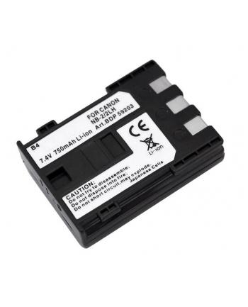 Doerr Akumulator DDP-CNB2L (D3, CANON NB-2L,LH - 7.4 V/750 mAh - S30-80, Eos400D)