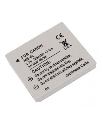 Doerr Akumulator DDP-CNB4L (D35, CANON NB-4L - 3.7 V/700 mAh do Ixus 30-55,iZoom)