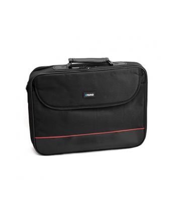 CRONO torba na notebooka Basic 17,3'', czarna