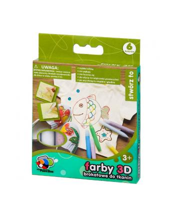 CRAYOLA Farby 3D 6 szt.