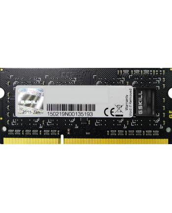 G.SKILL SO-DIMM DDR3 4GB 1333MHz CL9