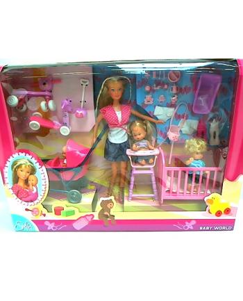 STEFFI Lalka,dzieci w pokoju dziecięcym