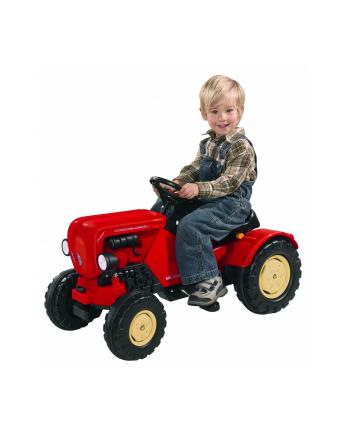 BIG Traktor Porchse czerwony