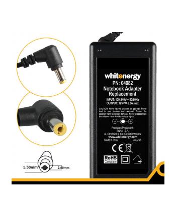 Zasilacz Whitenergy 19V/6.3A 120W wtyczka 5.5x2.5mm Acer, HP, Toshiba