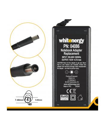 Whitenergy zasilacz 19.5V/6.7A 130W wtyczka 7.4x5.0mm Dell