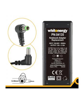 Whitenergy zasilacz 19V/3.16A 60W wtyczka 6.3x3.0mm Toshiba
