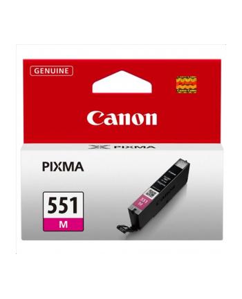 Wkład atramentowy Canon CLI551M magenta | seria 550/551