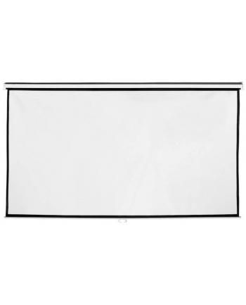 4World Ekran projekcyjny na ścianę 265x149 (120'',16:9) biały mat