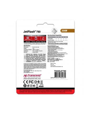 JETFLASH 780 32GB USB3 Dual Channel
