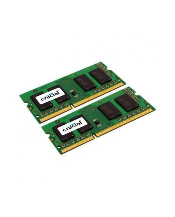Crucial 2x4GB DDR3 1600MHz CL11 SODIMM 1.35V/1.5V