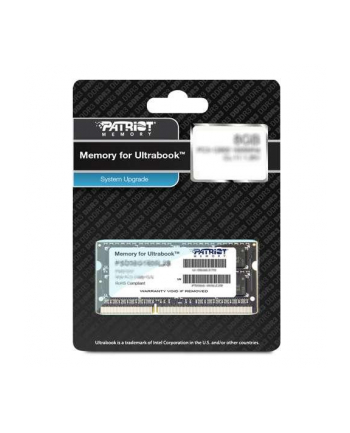 Patriot 4GB 1600MHz DDR3 Non-ECC CL11 1.35V  SODIMM, for Ultrabook
