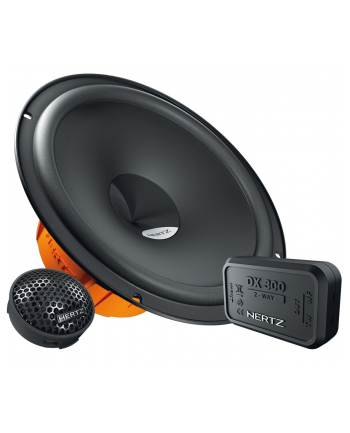 Głośniki samochodowe HERTZ DSK165.3 (moc max. 160W/ czarne)