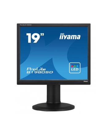 MONITOR LED IIYAMA 19  B1980SD-B1 BLACK 5:4 DVI-D/pivot/glosniki