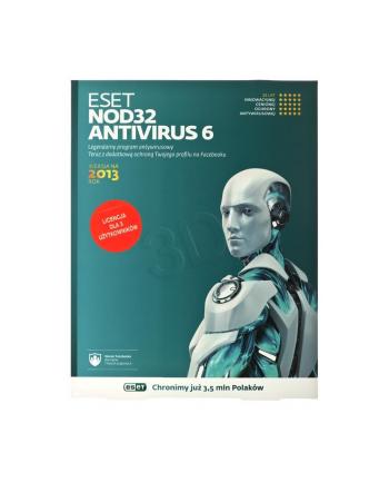 ESET NOD32 ANTIVIRUS BOX - 3 STAN/12M
