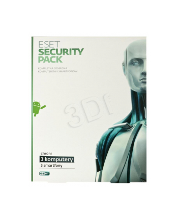 ESET SECURITY PACK BOX -3 STAN/12M +3 SMARTFONY/12M