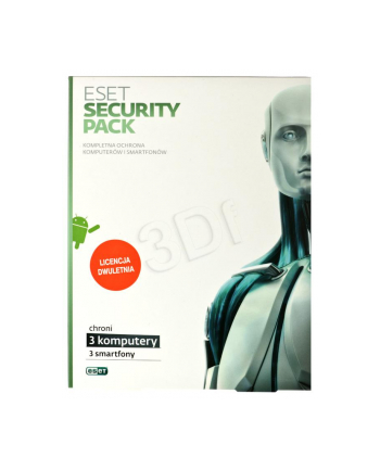 ESET SECURITY PACK BOX -3 STAN/24M +3 SMARTFONY/24M