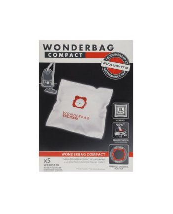 Wonderbag Compact Rowenta 5 sztuk do Compacteo