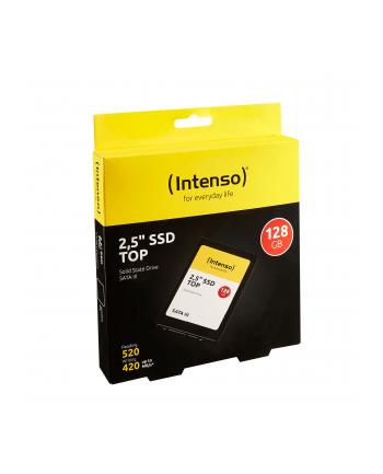 Intenso Dysk SSD 128GB Sata III, 2,5'' TOP (read: 520MB/s; write: 300MB)