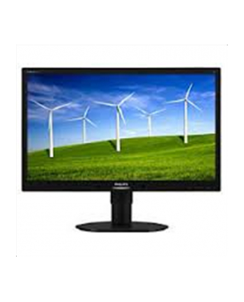 Monitor Philips LED 22'' 220B4LPYCB/00; wide, 5ms, DP, DVI, USB, czarny