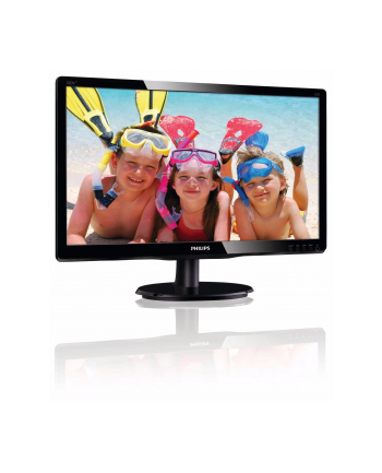 Monitor Philips LED 22'' 220V4LSB/00; DVI; ES5.0, EPEAT; czarny