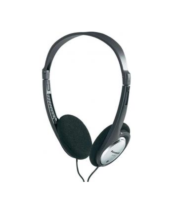 Słuchawki nagłowne Panasonic RP-HT030E-S | srebrne