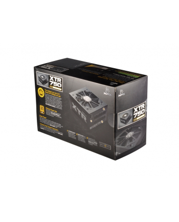 XFX Black Edition 750W Modular 120mm 80+ Gold ( Wydajność 90%/ 6 x PCI-E Connectors / 3 x Max GPU Support)