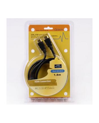 KABEL IMPULS-PC HDMI-HDMI 1,8m gold/fer/blist Miedź(99,99%)