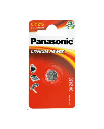 Bateria Panasonic CR1216 | 1 szt. | blister