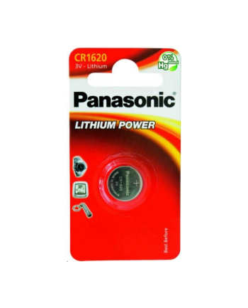 Bateria Panasonic CR1620 | 1 szt. | blister