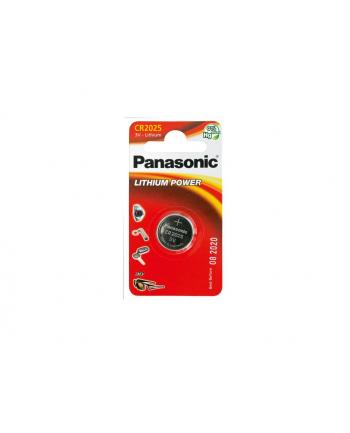 Bateria Panasonic CR2025 | 1 szt. | blister
