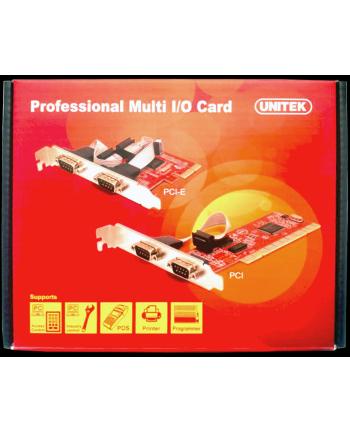 KONTROLER UNITEK PCI-E 2X RS-232