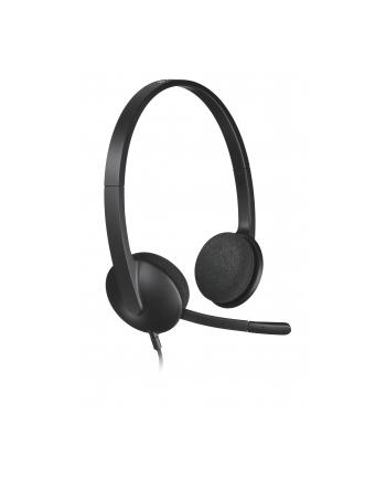 SŁUCHAWKI LOGITECH Stereo Headset H340