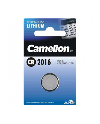 Camelion Lithium Button celles 3V (CR2016), 1-pack