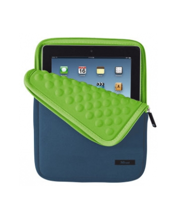 Anti-Shock bubble sleeve for 10'' tablets – blue