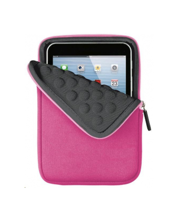 Anti-shock bubble sleeve for 7'' tablets - pink