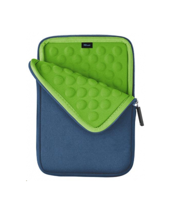 Anti-shock bubble sleeve for 7'' tablets - blue