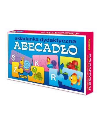 ADAMIGO Układanka puzzlowa Abecadło