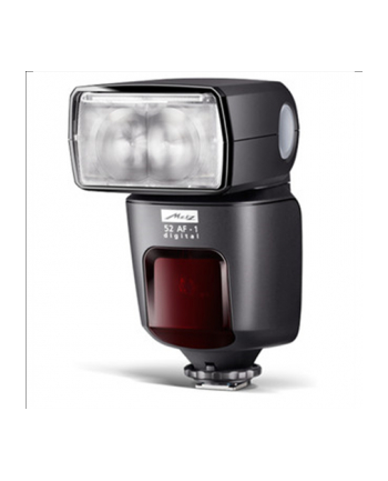 Metz 52 AF-1digital for Canon, Detail metal base, USB port, Swivel reflector, Flip-out reflector card, Display